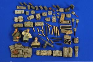 M24 Chaffee Stuvning - Ammo - Crew - Verlinden 2732