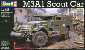M3A1 Scout Car-Revell 03078