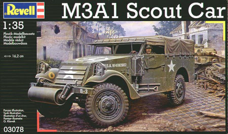 M3A1 Scout Car - Revell 03078