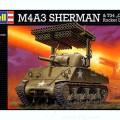 M4A3 셔먼 w/로켓 발사기-Revell03074