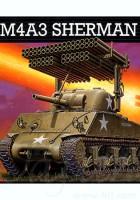 M4A3 Sherman w/Rocket Launcher - Revell 03074