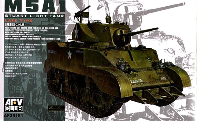 M5A1 Stuart Late Type - AFV Club 35161