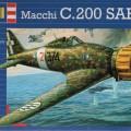 Vonící macchi MC200 Saetta - Revell 3991