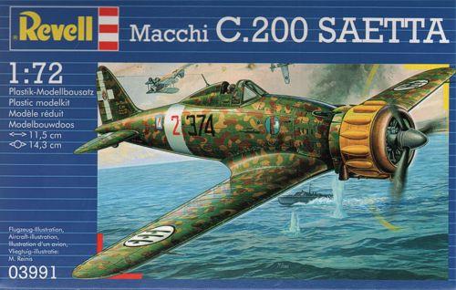 Macchi MC200 Saetta - Revell 3991