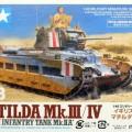 Matilda Mk.III/IV de la Infantería Británica Tanque de Mk.IIA - Tamiya 32572