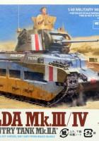 Matilda M..III/IV - Britiske Infanteriet Tank M..IIA - Tamiya 32572
