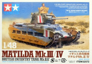 Matilda M..III/IV - Britská Pechota Nádrž M..IIA - Tamiya 32572