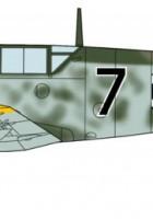 Messerschmitt BF109F-4 szlaków/P1 limitowana edycja - Хасэгава 09980