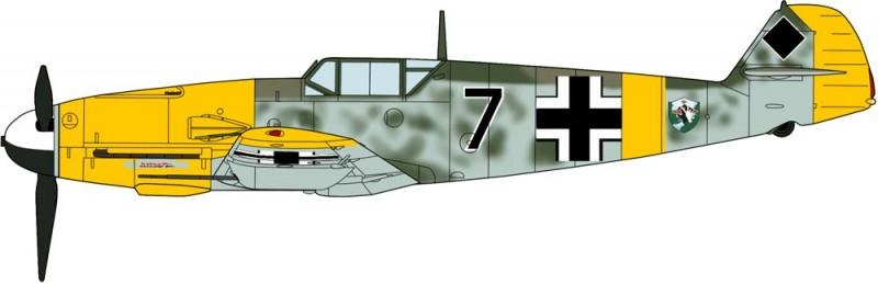 Messerschmitt BF109F-4 Trop/R1 Limited Edition - Hasegawa 09980