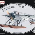 Morane-Солнье WR z pływakami AZ - model AZM73076