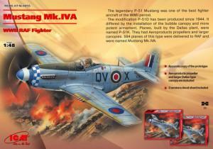 Mustang Mk.IVA - RAF Fighter - ICM 48155