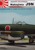 Nakajima J9N KIKA - AZ-Modelo 73086