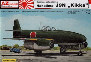 Nakajima J9N KIKA - O-Modelo 73086