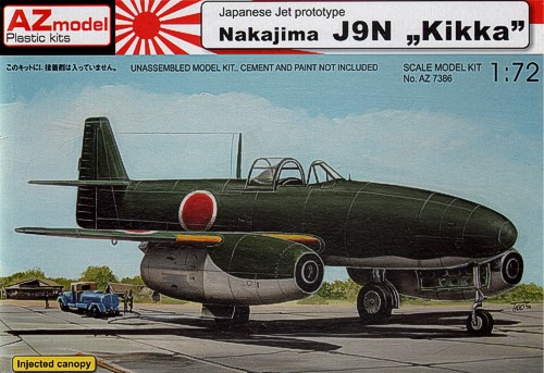 Nakajima J9N KIKA - AZ-Mudel 73086