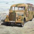 Opel Blitz Omnibus W39 - la Fin de la seconde GUERRE mondiale de services - Roden 726