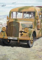 Opel Blitz Omnibus W39 - Late WWII service - Roden 726
