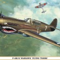P-40F/K Warhawk Flying Tigers Limited Edition - Hasegawa 08226