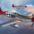 P51D Mustang tuskegee-i Pilóták Limited Edition - Hasegawa 08225