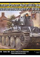 Pansrede Kommando Køretøj Pz. BfWg 38(t) på Vej.B - TRISTAR 35026