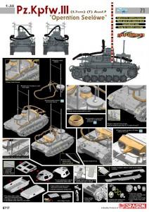 Pz.Kpfw.III Ausf.F - Operatie Seelowe - Cyber-Hobby 6717