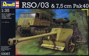 Les Tracteurs À Chenilles Est - Pak40 - Revell 03067
