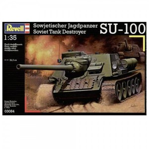 Revell 03084 - Soviet Tank Destroyer SU-100