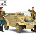 Russian Commanders & Staff Car Set - Tamiya 25153
