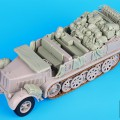 Sd. Kfz. 8 big dodatki set - Black Dog T35072