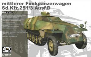 Sd.Kfz. 251/3 på Vej. C - AFV Club 35S50
