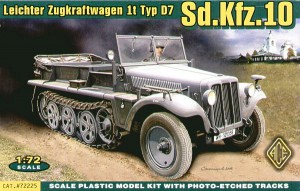 Sd.Kfz.10 - Demag D7 - Ace Models 72225