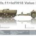 Sd.Kfz.11+leFH18 Value Pack - AFV Club 35S48