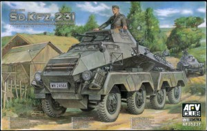 Sd.Kfz.231 8-Rad (early type) - AFV Club 35231