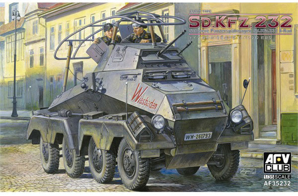 Sdfkfz 232 Tidlig Type - AFV Club 35232