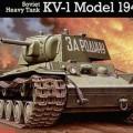 Sovětský Těžký Tank Kv-1 - Revell 03085