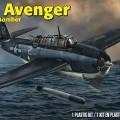 TBF Avenger Torpeda Bombonešis - Revell 5259