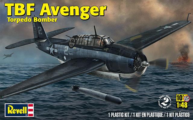 TBF Avenger Torpedo Bomber - Revell 5259