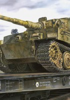 Tiger I Late (Transport Mode) - AFV Club 35S25
