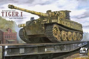 Tiger jag Sent (Transportmedel) - AFV Club 35S25