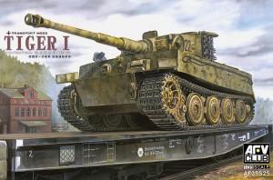 Tiger I Late (Transport Mode) - AFV Club 35S25