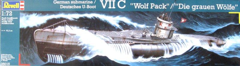 Okręt podwodny typu VIIC-Revell 5015