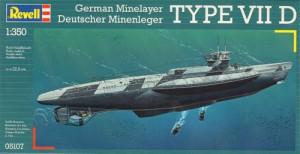 U-BoatType VII D - Revell 5107