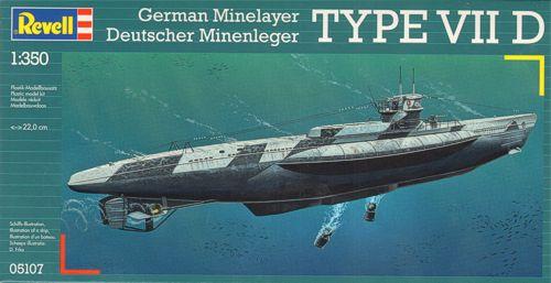 U-BoatType VII D-Revell5107