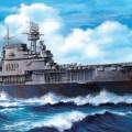Amerykański lotniskowiec uss Yorktown - Tamiya 31712