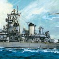 U.S. Battleship BB-62 New Jersey - Tamiya 78028