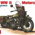 U. S. WW II Motorcycle WLA - Миниарт 35080