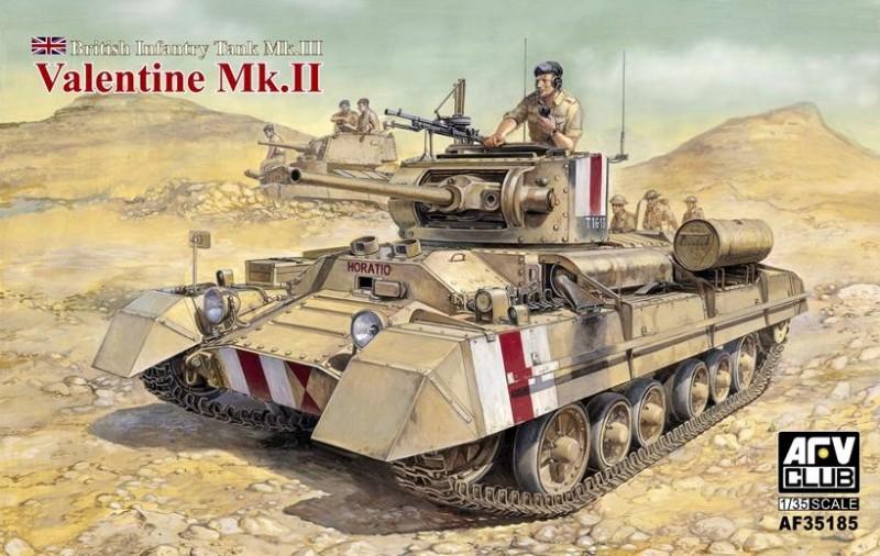 Valentine Mk.II Britanski Pehota - AFV Klub 35185