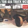 WC-57 4x4Dodgeコマンド車、連装砲ちゃん改造ブームが到来35S16