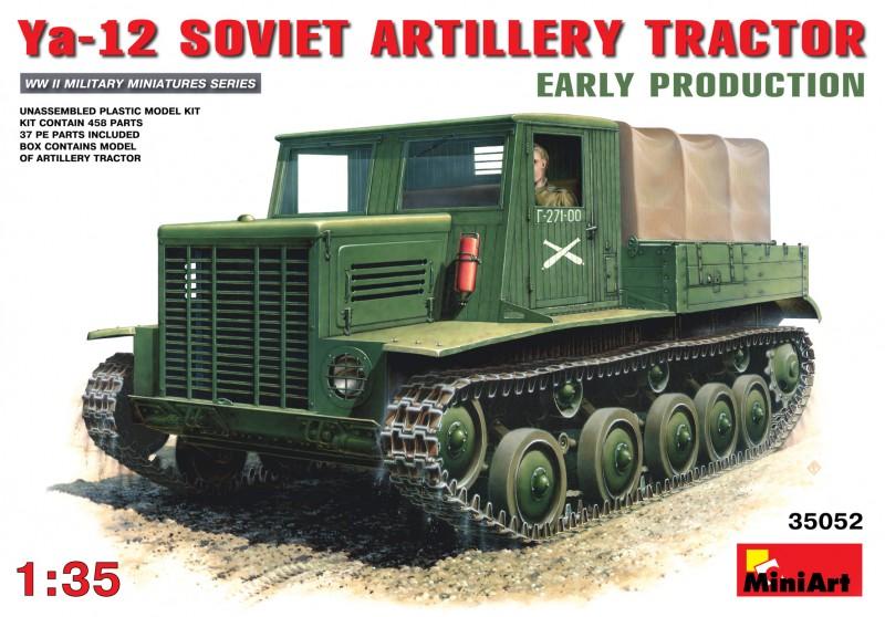 Ya-12 Soviet Artillery Tractor - MiniArt 35052