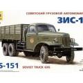 ZIS-151 Sovjetiske Lastbil - Zvezda 3541