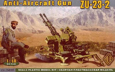 ZU-23-2 Anti-Aircraft gun - Ace Models 48101